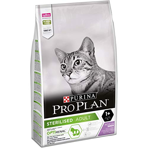 PURINA Pro Plan Sterilised Turkey Comida para Gatos - 10000 gr