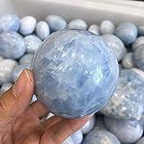 ACEACE Bola de Cristal de Cuarzo de 60 mm Azul Natural Celestina Esfera