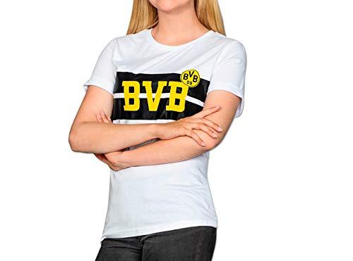 Borussia Dortmund BVB Women Shirt (M, weiß)