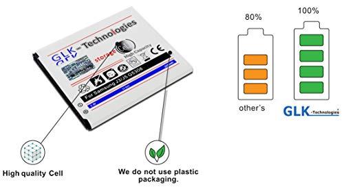 GLK-technologies // accu met 2600 mAh // compatibel met Samsung J3 / J5 (G5308) // geld terug garantie!