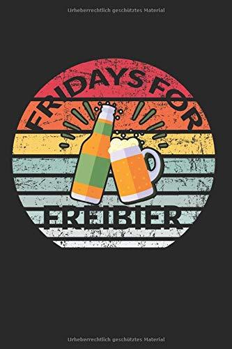 Skizzenbuch Fridays for Bier: Bier I Zeichenblock I 100 Seiten