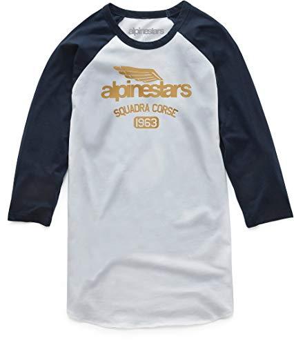 Alpinestars T-Shirt Winged Team Weiß Gr. XL