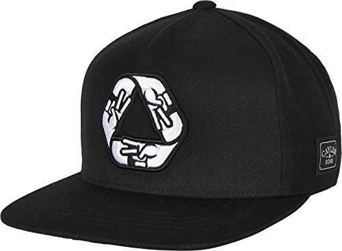Cayler & Sons Kappe C&s WL Iconic Peace Baseball cap Cappellino, Nero/Bianco, Taglia Unica Unisex-Adulto