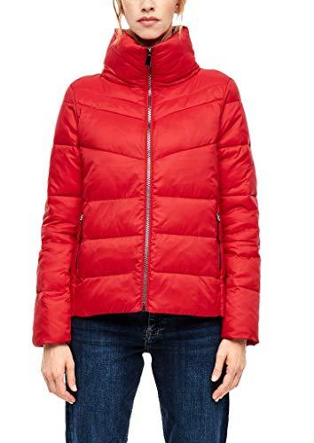 s.Oliver Damen Puffer Jacket mit Stehkragen red 38