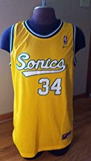 Ray Allen Seattle Supersonics Autographed Signed Jersey JSA