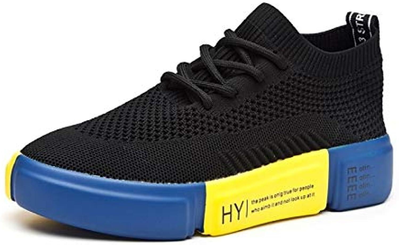 Women's Comfort shoes Elastic Fabric Summer Sneakers Flat Heel White Black