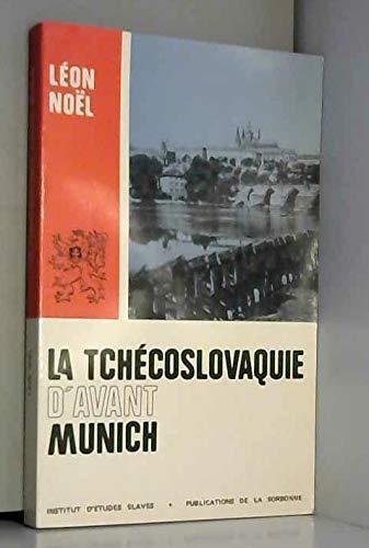 Tchecoslovaquie d Avant  Munich