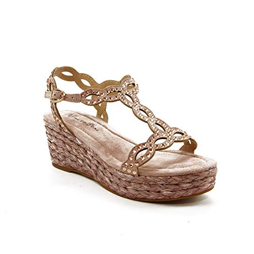 ALMA EN PENA - Sandalen für: Damen, Pink - Rosa - Größe: 38 EU