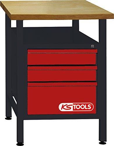 KS Tools 8650010 werkbank met 3 laden