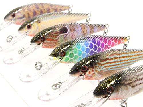 Multi Jointed Fischköder locken Swimbait Bass Pike Life Like Minnow Musky