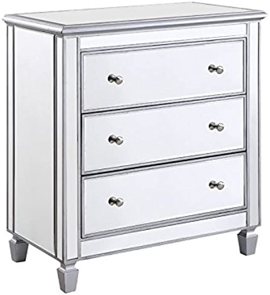 Beaumont Lane 3 Drawer Mirrored Chest