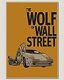 PHhomedecor Leinwanddrucke Poster,Der Wolf Der Wall Street