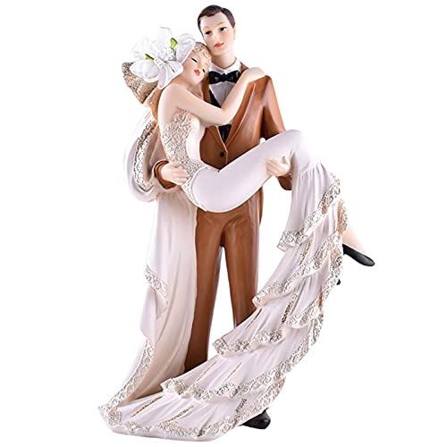 XDYFF Couple Statues and Figurines, Romantic Sculpture Decor Modern Ornament, Wedding/Anniversary/Engagement/Birthday Gift for Couple Friends Parents Families,A