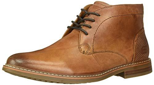 Skechers Men's Bregman-CALSEN Boot, Cognac, 10.5 Medium US