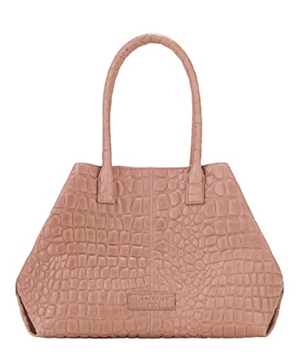 Liebeskind Berlin Damen Malibu - L.a. Shopper Medium Schultertasche, Pink (Dusty Rose), 15x28x36 cm