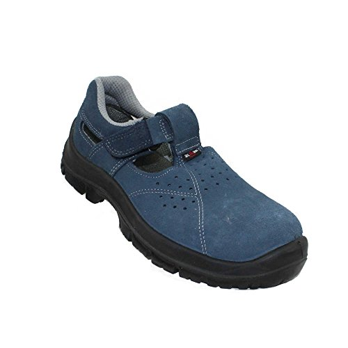 Almar Tropic S1 SRC Sicherheitsschuhe Arbeitsschuhe Trekkingschuhe Sandale Blau B-Ware, Größe:36 EU