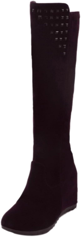 RizaBina Women Hidden Heel Boots Zipper