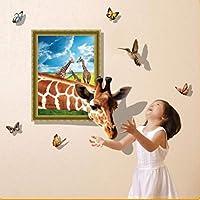 新しいカラフルな3D蓮の池パターン魚の床のステッカー子供の部屋の家の装飾のバスルームの壁紙自己接着PVCアート壁画、105×100センチ