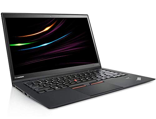 Lenovo ThinkPad X1 Carbon 3 Mobiles Notebook Intel i7 2.6 GHz Prozessor 8 GB Arbetsspeicher 256 GB SSD 14 Zoll Display, WQHD, 2560x1440 IPS Touch UMTS Cam Windows 10 Pro LK0 (Generaluberholt)
