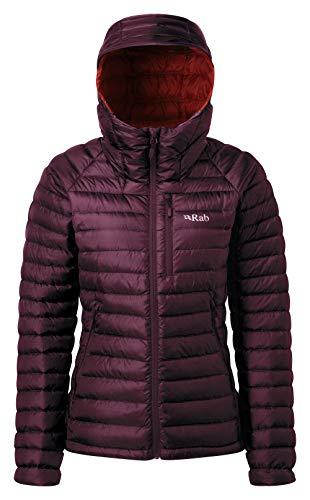 RAB Microlight Alpine Jacket - Women's Eggplant/Rococco 16