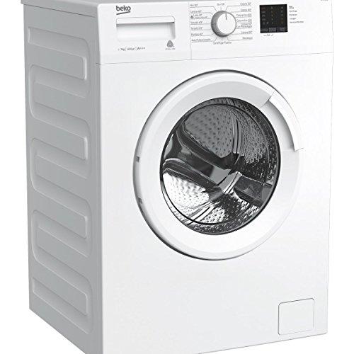 Beko WTX71231W Libera installazione Carica frontale 7kg 1200Giri/min A+++ Bianco lavatrice