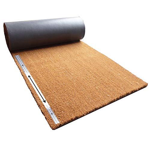 Matten-Center Kokosmatte Meterware   Kokos Fußmatte Zuschnitt auf Wunschlänge   Diverse Breiten und Stärken   ab 17,40 €   gewählt: 100 cm breit, 20-50 cm lang, 17 mm dick