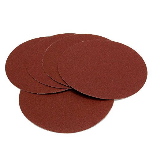 Woltersberger® 50 discos abrasivos de 180 mm de diámetro, grano P40, P80,...