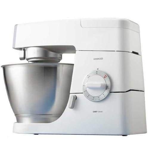 Kenwood KM336 Robot de cocina Classic Chef, 800 W, metal, color blanco: Amazon.es: Hogar