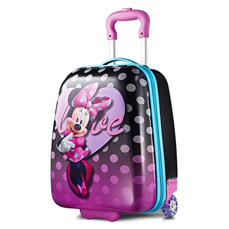 ディズニー ミニーマウス キャリーバッグ ハード スーツケース キッズ American Tourister (アメリカンツーリスター) [並行輸入品]