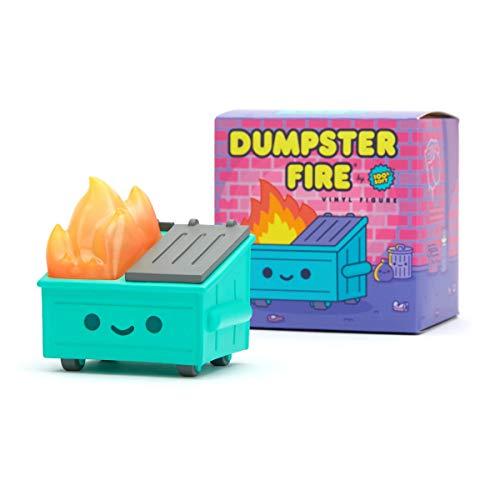 100% Soft Dumpster Fire Vinyl Figure