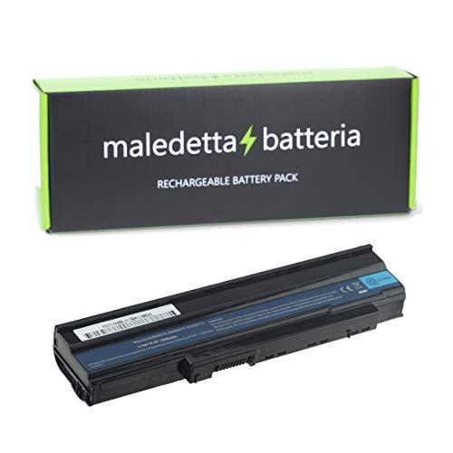 AT Batteria Potenziata 5200mAh 11.1V per Portatile Acer Extensa 5635Z-444G32N, 5635Z-4686, 5635ZG, 5635ZG422G25Mn, 5635ZG-422G25Mn, 5635ZG-423G25Mn, 5635ZG-432G25Mi, 5635ZG-442G16Mi, 5635ZG-443G25Mi