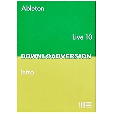 Ableton Live10 Intro エイブルトン