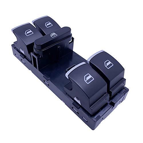 KUANGQIANWEI 1 unids Chrome Electric Power Master Windoor Switch Fit para JJETTA Fit for Golf MK5 MK6 GTI Fit para Rabbit Fit para Passat B6 Fit para Tiguan 5nd 959 857 1k4 959 857 B