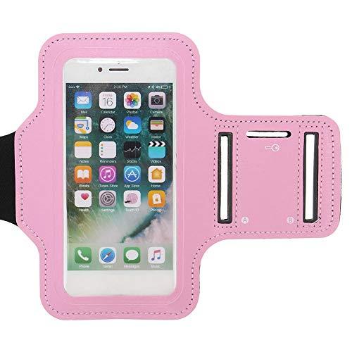 Trihedral-X Taihang Aplicable para iPhone7 Plus Sports Running Gym Brazo para Pantalla táctil con Funda Protectora (Color : Pink)
