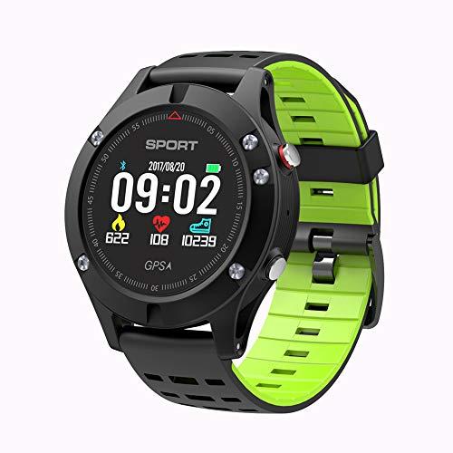 Reloj deportivo WMING con altímetro, barómetro, termómetro, IP67, resistente al agua, pulsómetro para hombres, mujeres y aventureros, reloj deportivo para correr, senderismo y escalada