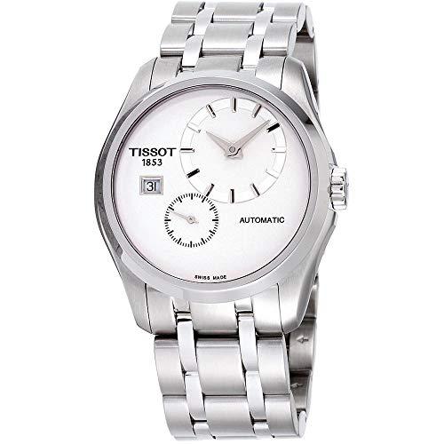 Tissot T0354281103100 - Reloj para Hombres, Correa de Acero Inoxidable Color Plateado