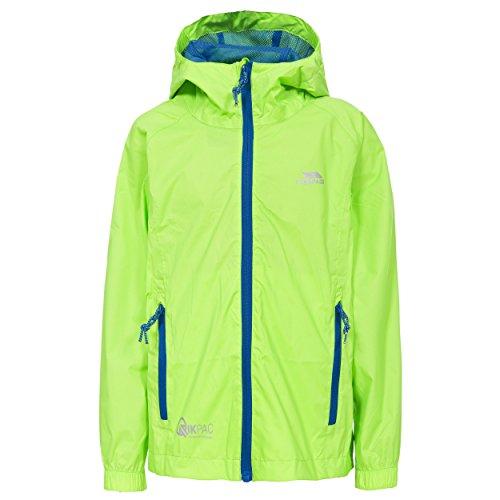 Trespass Qikpac - Waterproof Jacket / Packaway Raincoat for Boys and Girls...