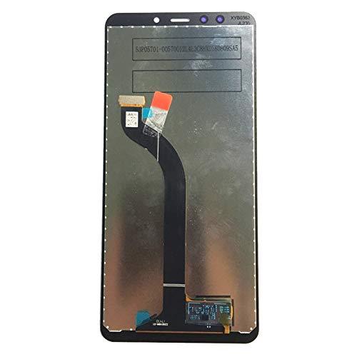 Pantalla LCD de pantalla táctil digitalizador de montaje ajuste para XiaoMi Redmi 5 teléfono pantalla LCD de repuesto de repuesto de pantalla del teléfono (color negro sin marco)