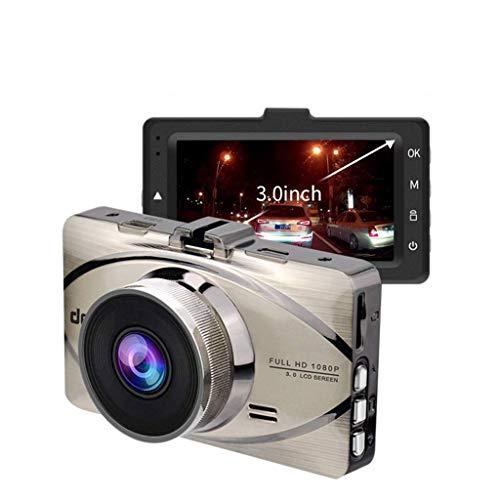 QXHELI Autokamera Full HD 1080P 3-Zoll-IPS-Schirm Autokamera Auto-Fahren DVR Weitwinkel-Schlag-Nocken Für Autos Parkplatz-Monitor WDR Motion Detection Und G-Sensor