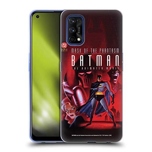 Head Case Designs sous Licence Officielle Batman DC Comics Film d'animation Phantasm Joker Costumes emblématiques des Bande dessinée Coque en Gel Doux Compatible avec Realme 7 Pro