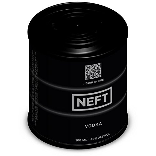 NEFT Black Barrel Vodka - 100 ml