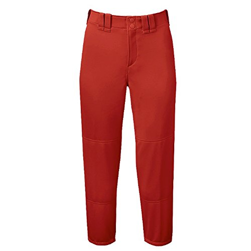 Price comparison product image Mizuno Girl's Belted Padded Pant (Red,  Small)