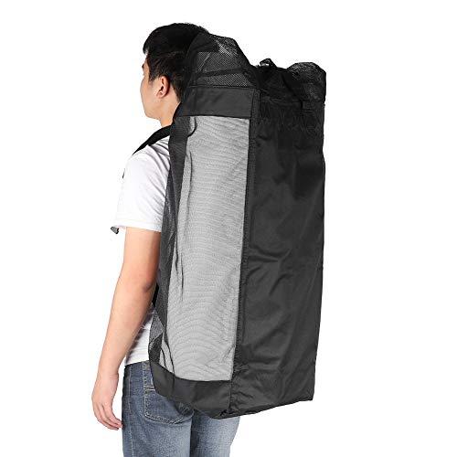 Big Backpack Oxford Fabric Equipment Backpack Shoulders Bag Waterproof Wear Resistant for Hiking Camping