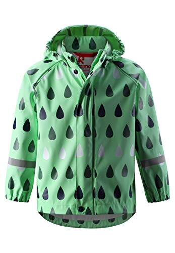 Reima Kinder Raincoat Jacke, Pale Green, EU 116