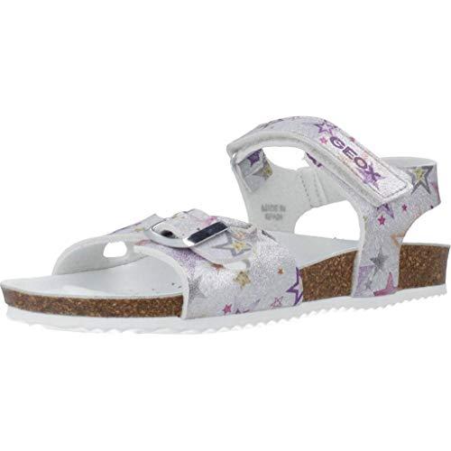 Geox Meisje Sandals And Slippers Girls J ADRIEL GIRL Zilver 29 EU