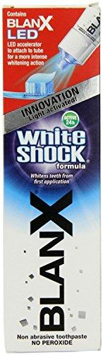 Blanx weiß Schock Zahnpasta Plus LED Beschleuniger
