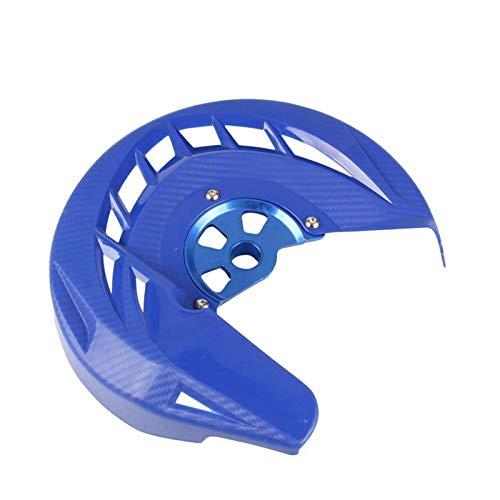 Gzcfesbn Cubierta del Disco del Freno Delantero de la Motocicleta for Yamaha WR426F YZ426F 2002 Durable (Color : Blue)