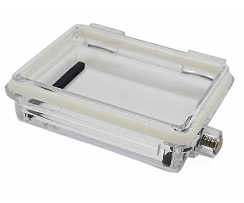 基本的なスカープ商品Goliton  GoPro Hero 3/2/1 対応 ホワイト 防水 シェルカバー  ボタン付き