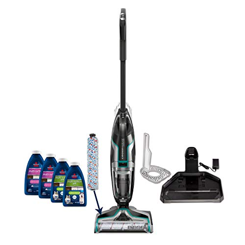 BISSELL CrossWave Cordless Floor and Area Rug Cleaner with Wet-Dry Vacuum, 2551, Silver