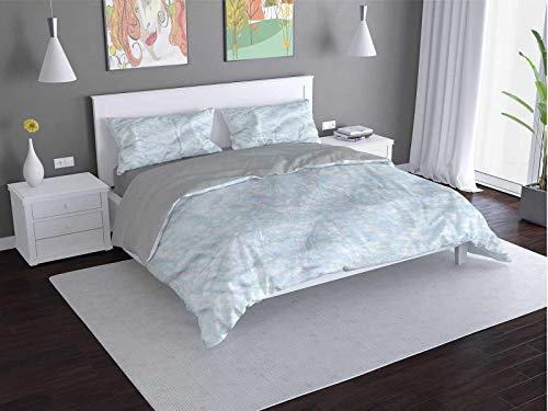 Toopeek Ropa de cama de lujo para hotel de bebé corazones-ositos de peluche-ropa de poliéster - suave y transpirable (Queen)